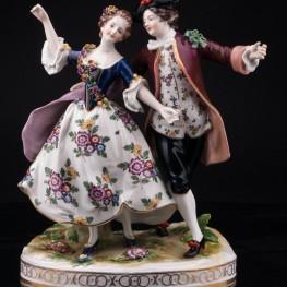 Танцующая пара, Volkstedt, Германия, до 1935 г